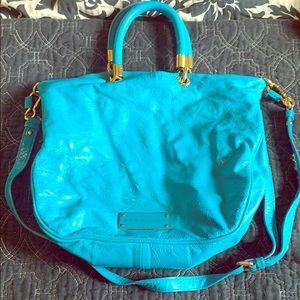 Marc by Marc Jacobs Teal Shoulder Bag